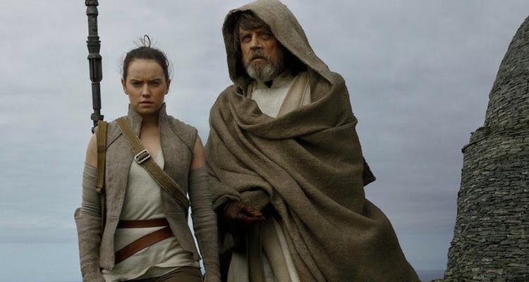 Star Wars Rey and Luke