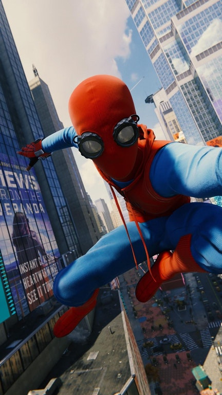 Marvel S Spider Man Fans Share Super Realistic Screenshots Could Be Promotional Shots For Spider Man Homecoming Bounding Into Comics