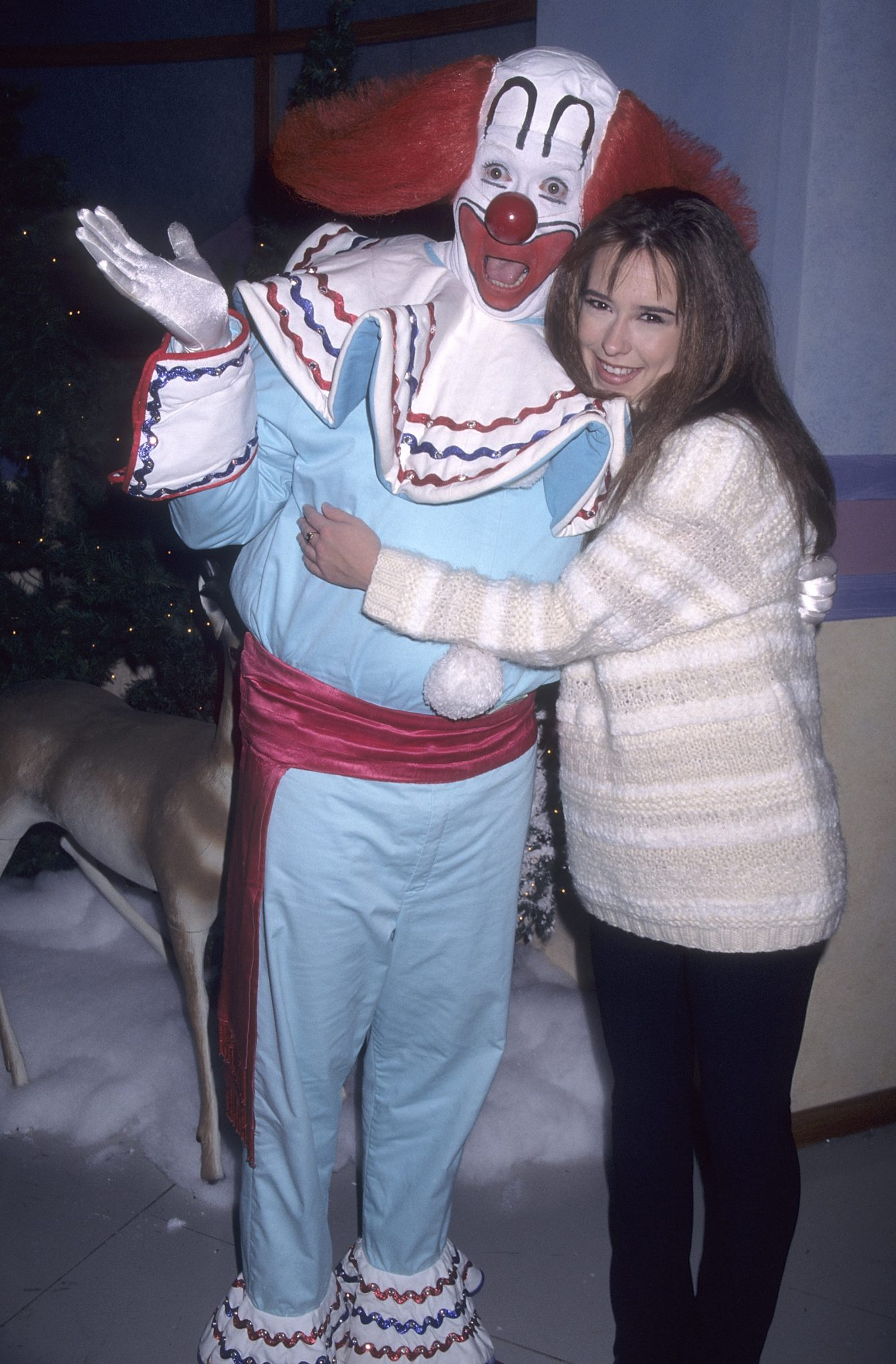Bozo the Clown and Jennifer Love Hewitt