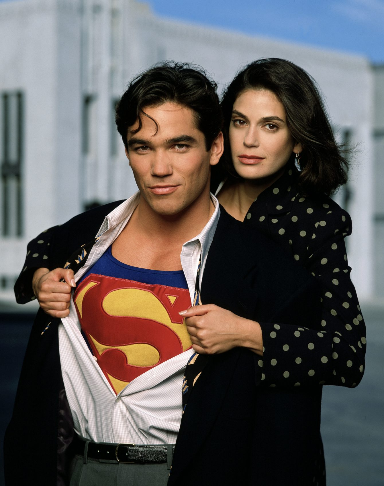 Dean Cain and Teri Hatcher