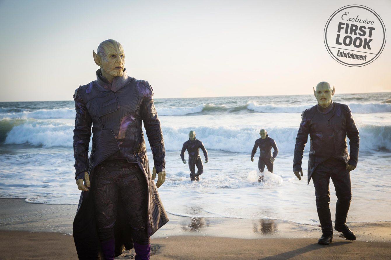 Ben Mendelsohn as the Skrull leader Talos