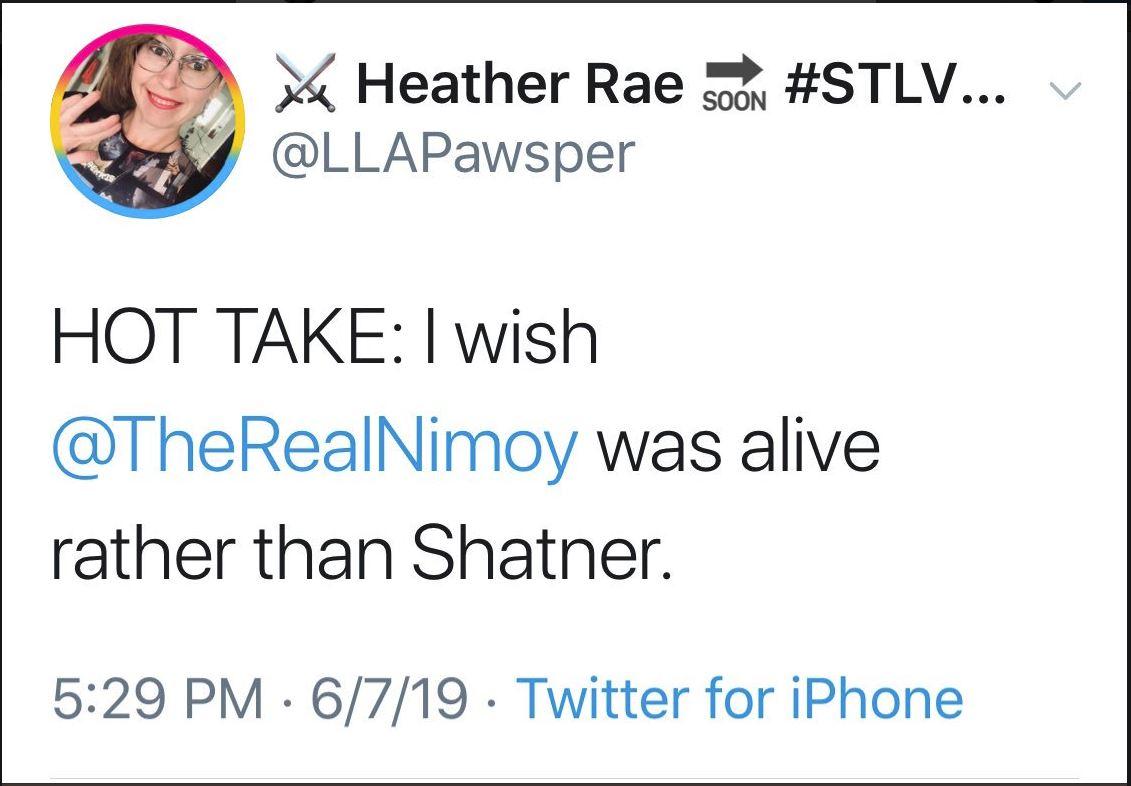 HeatherRae Tweet Against Shatne