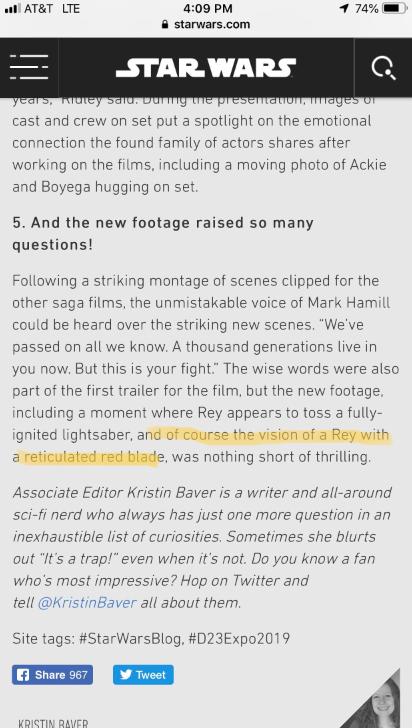 Disney Spoils Major Star Wars: The Rise of Skywalker Mystery Regarding 'Dark Rey'