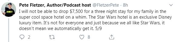 Around the Galaxy Podcast Cancels Episode Featuring Fandom Menace Member Drunk3P0 After Backlash - Fletzer Tweet 5/9
