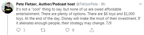 Around the Galaxy Podcast Cancels Episode Featuring Fandom Menace Member Drunk3P0 After Backlash - Fletzer Tweet 7/9