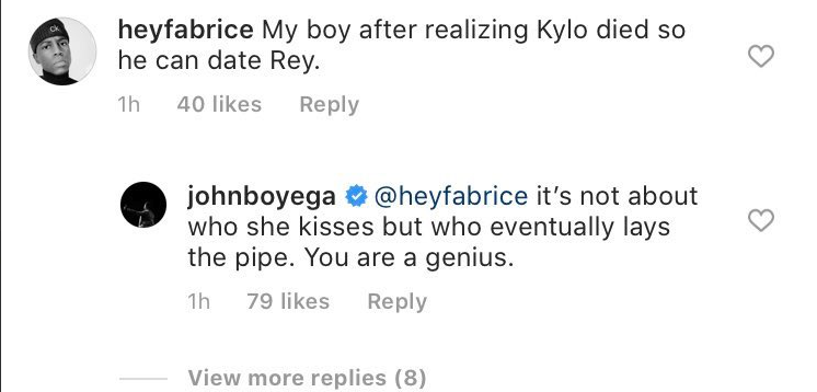John Boyega Ignores Social Media Attempts to Shame Him for Sexual Star Wars Shipping Joke