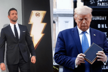 Zachary Levi Donald Trump