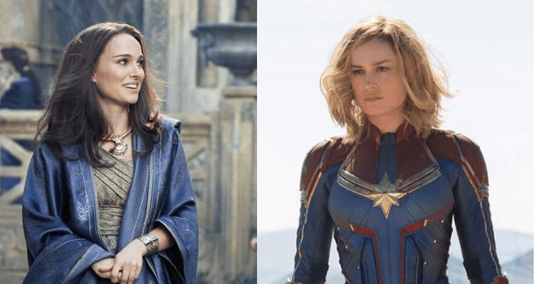 Natalie Portman and Brie Larson