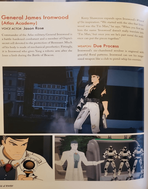 Fans Realize The World of RWBY: The Official Companion Book Contains No Mention of Former Qrow Branwen Voice Actor Vic Mignogna