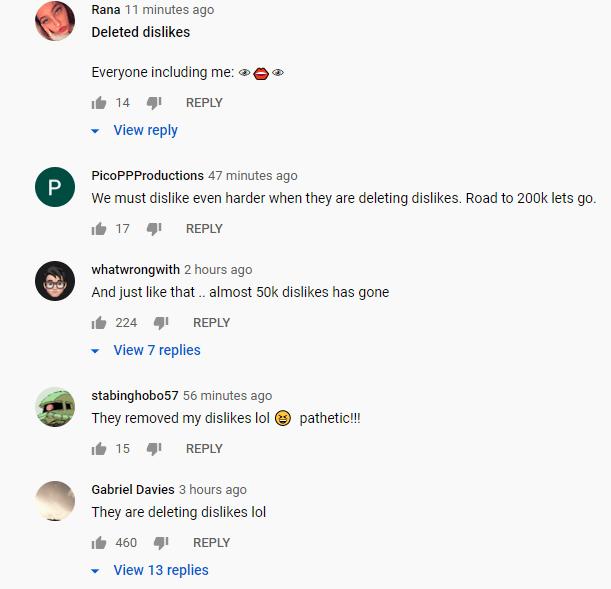 Pokemon United Youtube comments 3