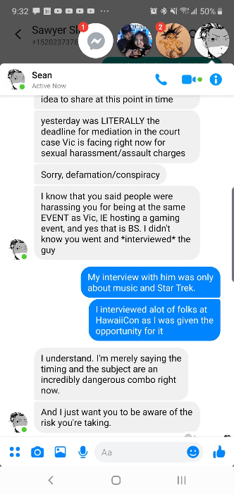 """The Legend of Heroes: Trails of Cold Steel Voice Actor Sean Chiplock Accuses YouTuber Mekel Kasanova of Doxxing, Claims It Necessary to """"Be Careful With This Individual"""""""
