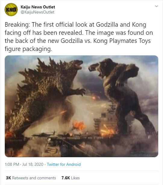 Godzilla Vs Kong Updated Banner Unveiled With New Plot Summary Bounding Into Comics One will fall #godzillavskong may 2021 i'm from indonesia🇮🇩. godzilla vs kong updated banner