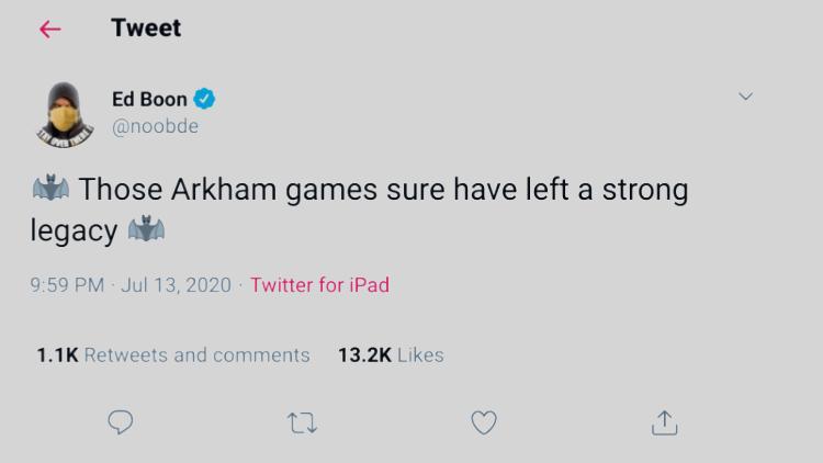 Screenshot-Ed Boon-Arkham Legacy