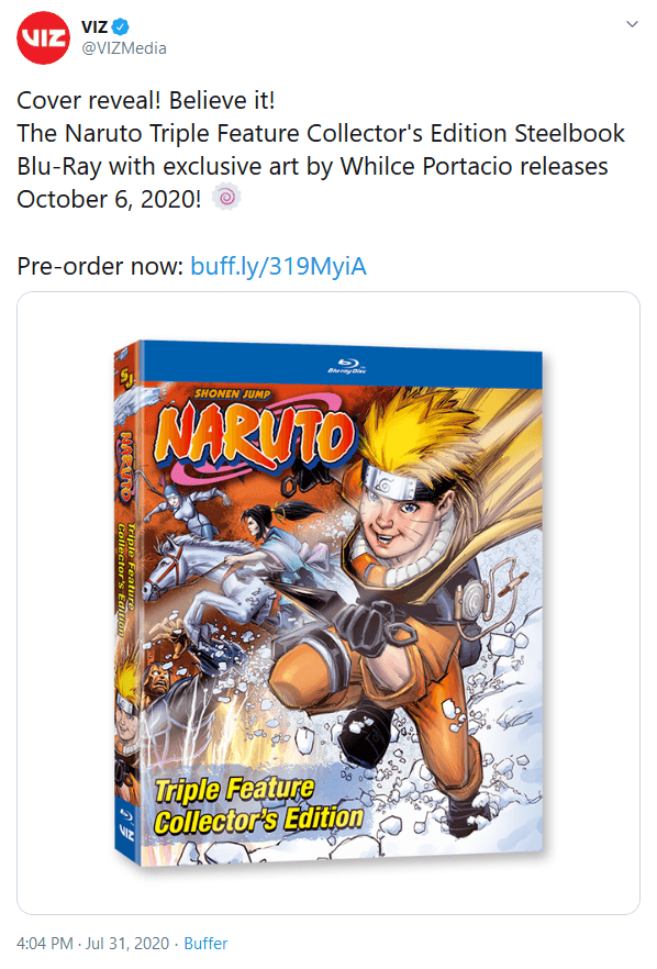 Viz Announces New Naruto Movie Box Set With Thematically Questionable Western-Style Cover