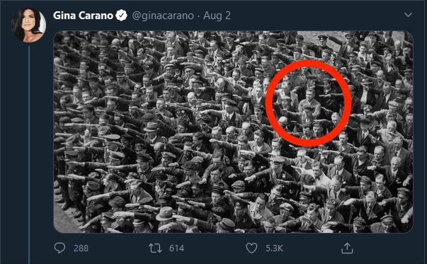 Gina Carano OG Tweet storm