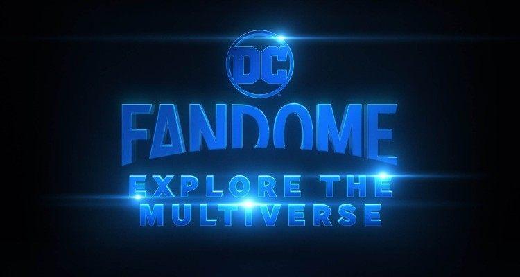 DC FanDome Explore the Multiverse Logo