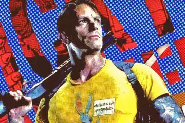 Joel Kinnaman as Rick Flag in The Suicide Squad