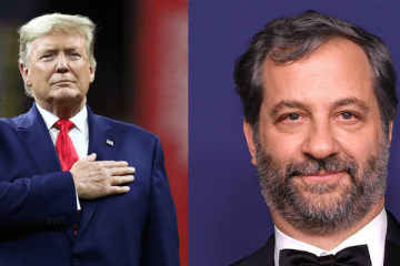 Donald Trump and Judd Apatow