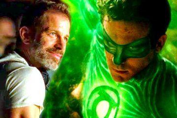 Ryan Reynolds Green Lantern in the Snyder Cut