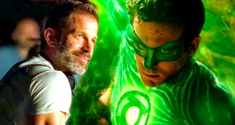 Ryan Reynolds Green Lantern in the Snyder Cut