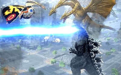 Godzilla-Mothra-and King Ghidorah AOA