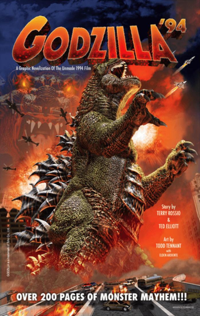 Godzilla 94 Cover