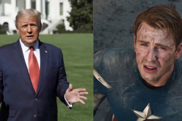 Chris Evans vs Donald Trump