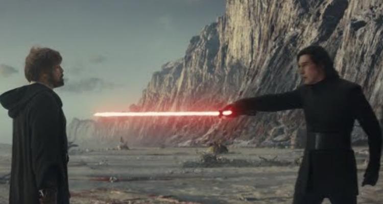 Kylo Ren vs Luke Skywalker