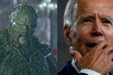 Joe Biden Swamp Thing