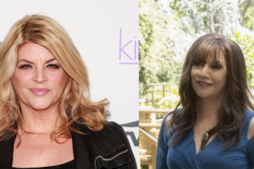 Kirstie Alley and Marina Sirtis