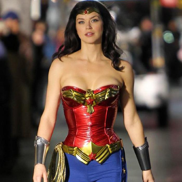 Wonder Woman-Adrianne Palicki-Leather Jacket
