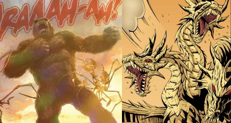 King Kong vs King Ghidorah