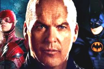 Michael Keaton in Flash as Batman
