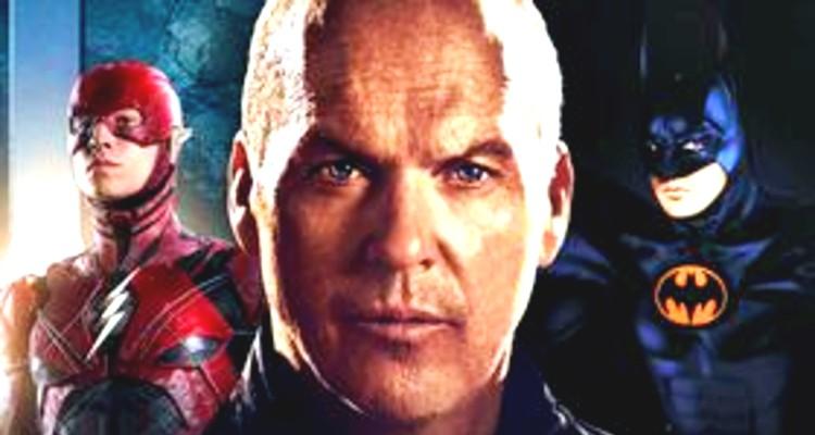Michael Keaton in Flash as Batman