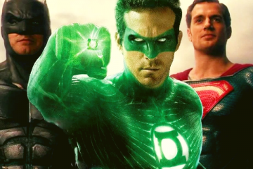 Green Lantern in the Snyder Cut