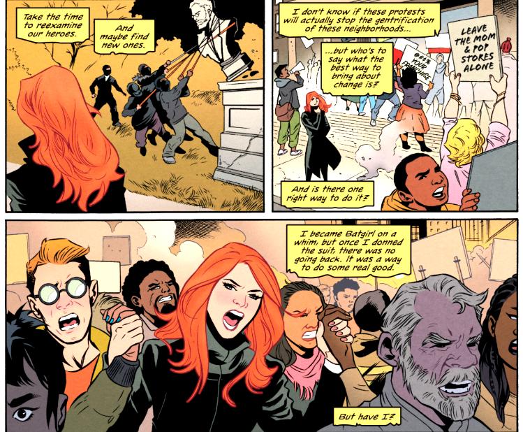 Batgirl 60 Panels
