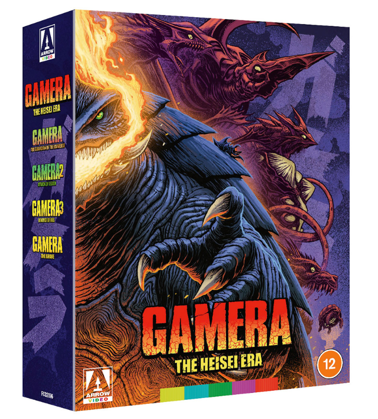Gamera-Heisei Box Set