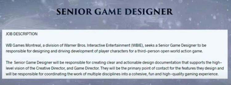 WB Montreal Job Listing-Superman