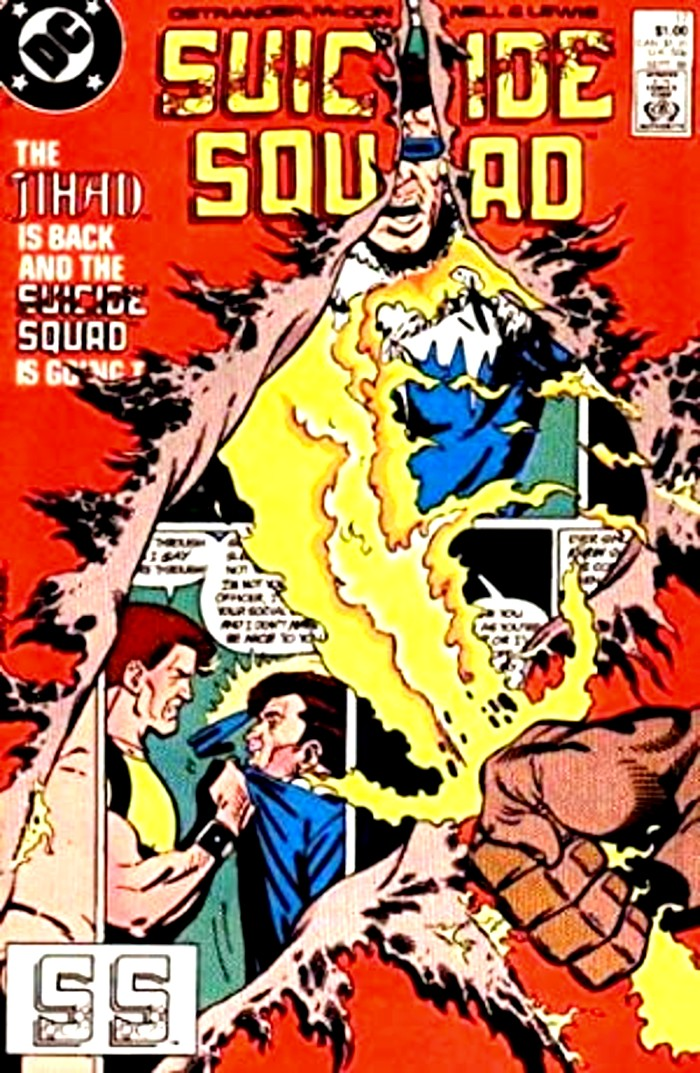 Suicide Squad Cover-The Jihad