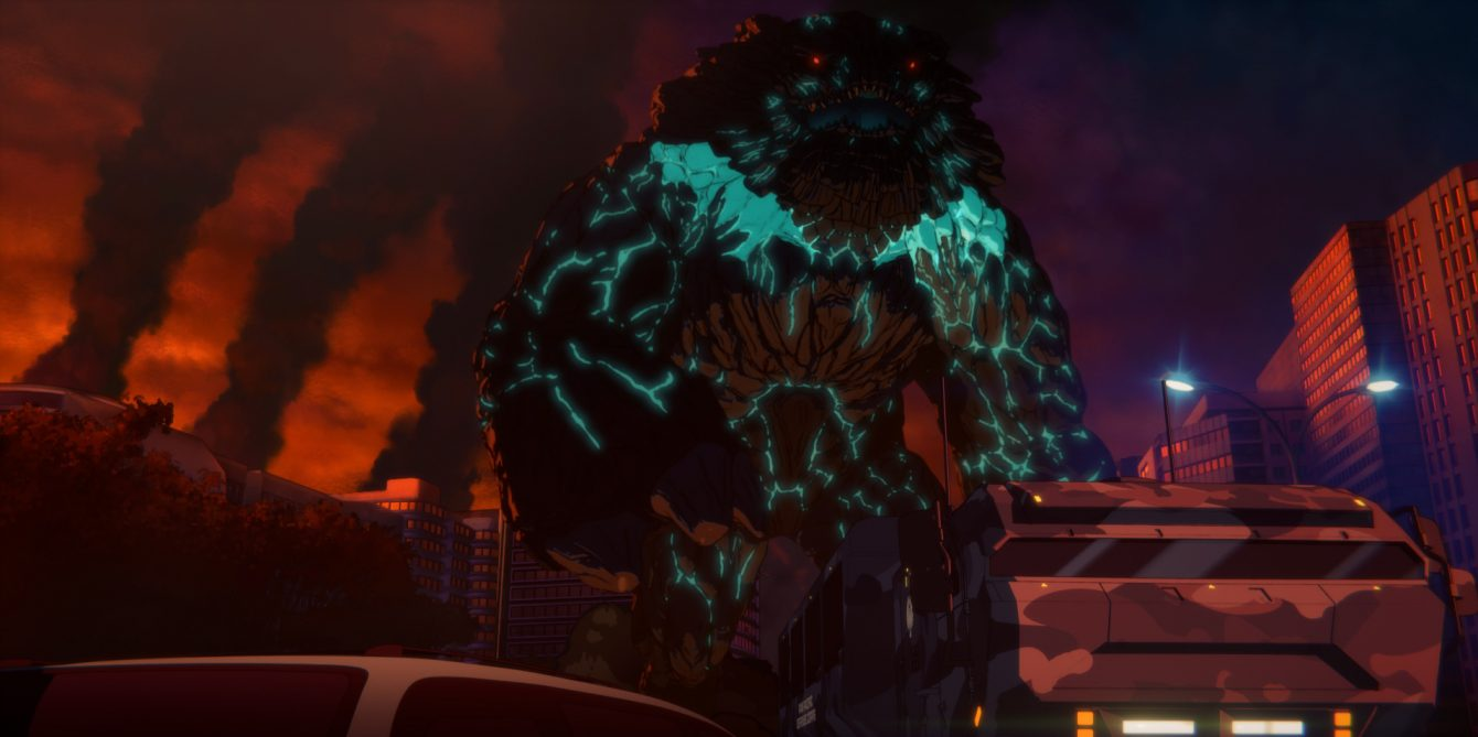 Pacific Rim_Anime Creature
