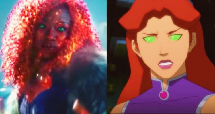 Anna Diop's Titans opposite Starfire
