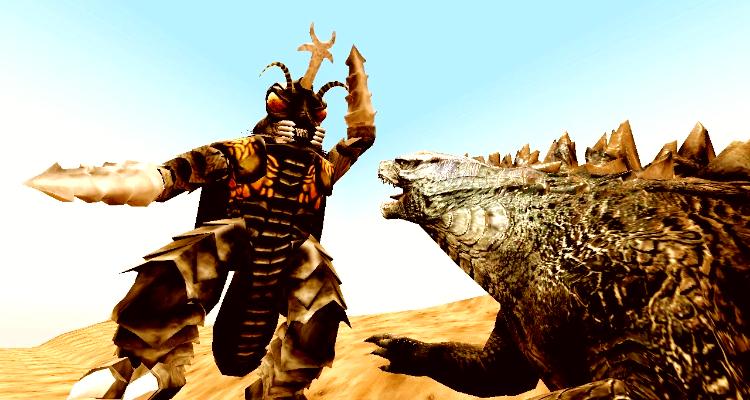 Godzilla v Megalon
