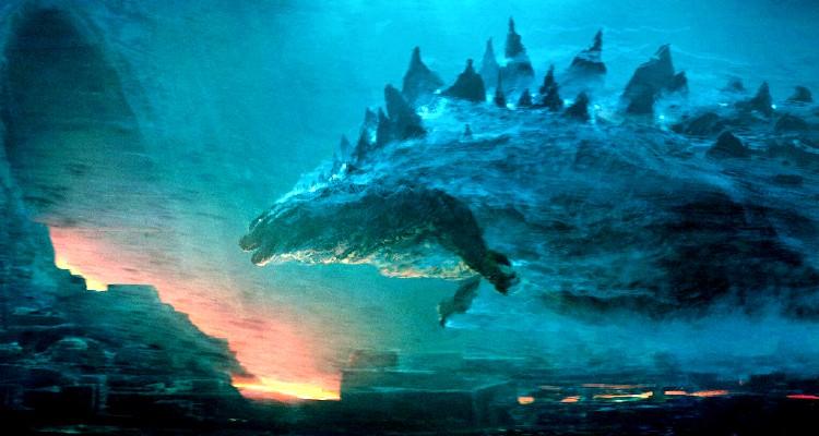 Godzilla enters HE
