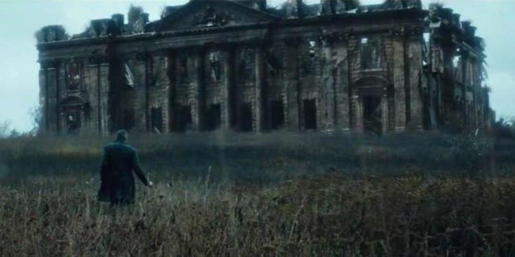Wayne manor in batman v superman