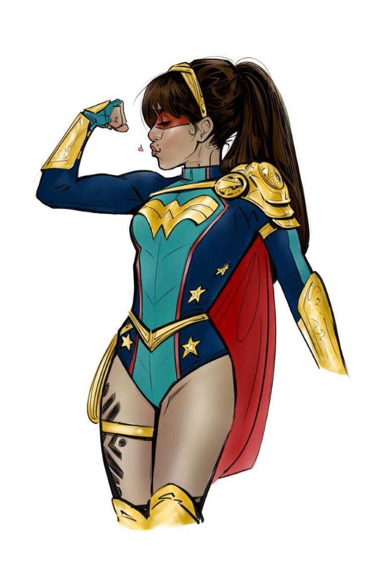 Yara Flor by Joelle Jones-Wonder Girl