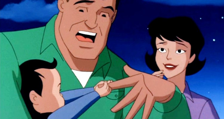 The Kents in Superman Animated Series