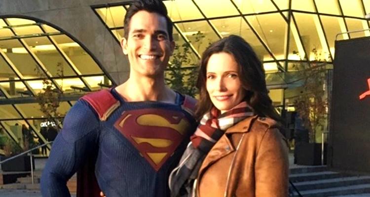 Ty Hoechlin & Bitsy Tulloch-Superman-Lois