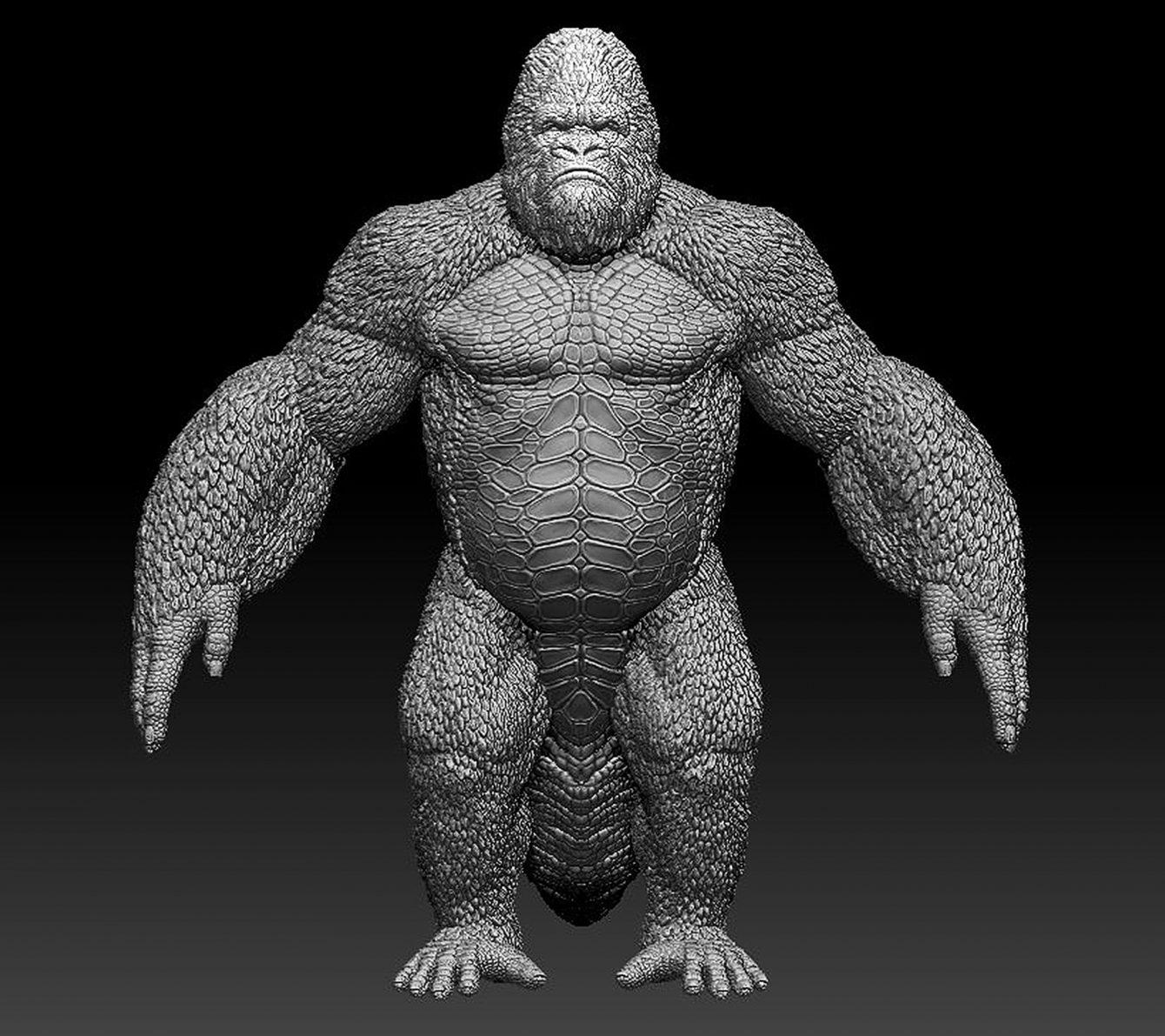 Godzilla-Kong hybrid3