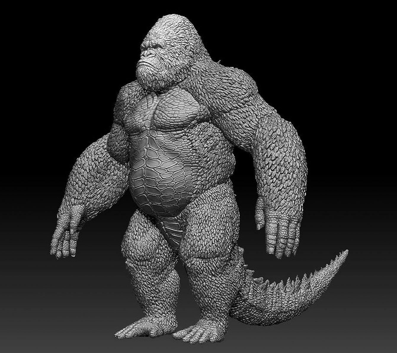 Godzilla-Kong hybrid2