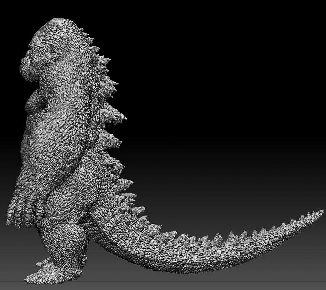 Godzilla-Kong hybrid